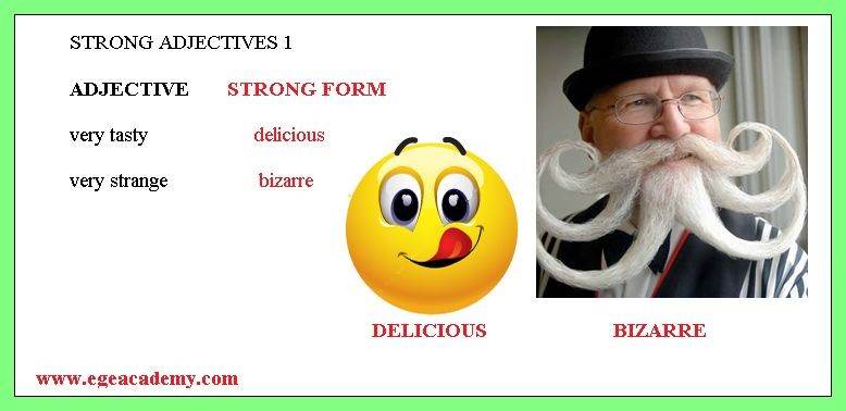 STRONG FORM OF ADJECTIVES